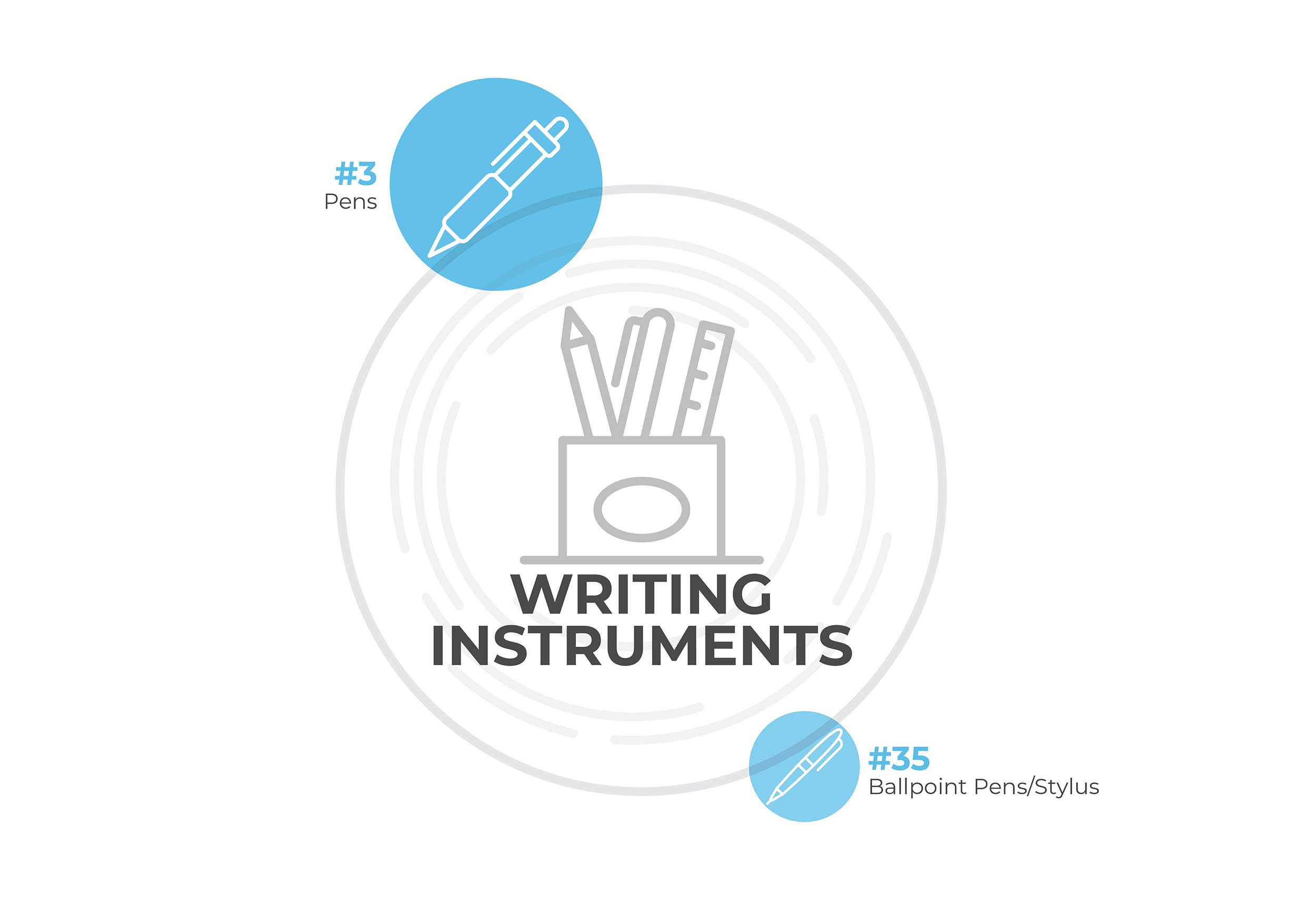 writing instruments image